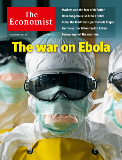 ECONOMIST The war on Ebola
