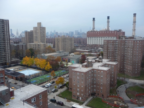 View of Lower East Side